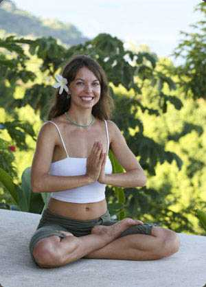 Ariel, one of Anamaya's Yoga Teachers