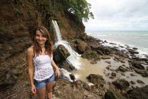 Yasmin and Waterfall 1