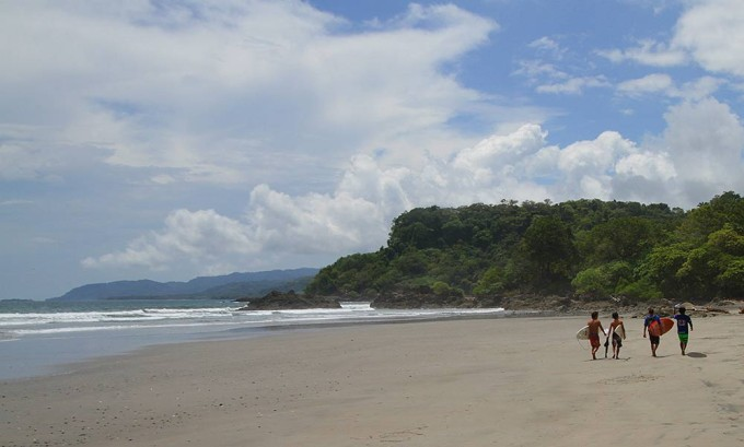 Playa Grande of Montezuma, Costa Rica