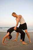 building relationships with partner yoga