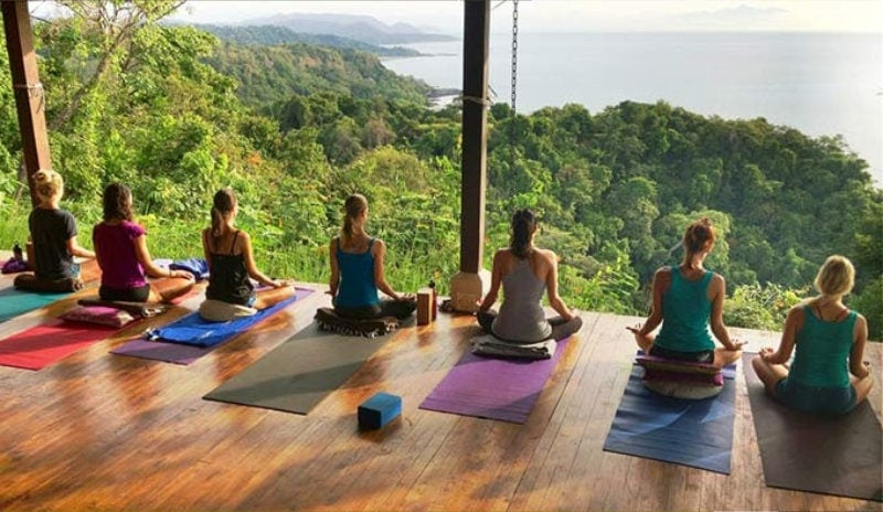 Anamaya Resort Yoga Deck