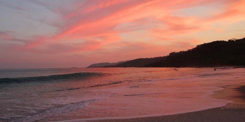 Anamaya Resort - Sunset at Nearby Beaches