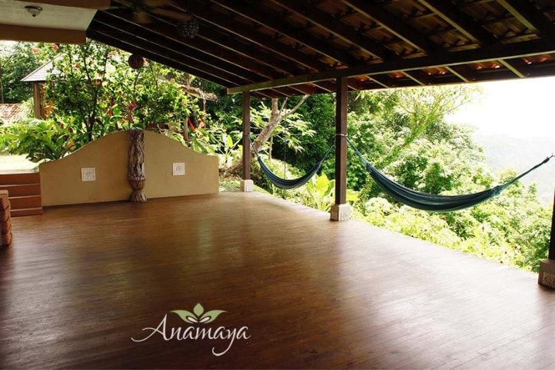 Anamaya Resort Yoga Decks