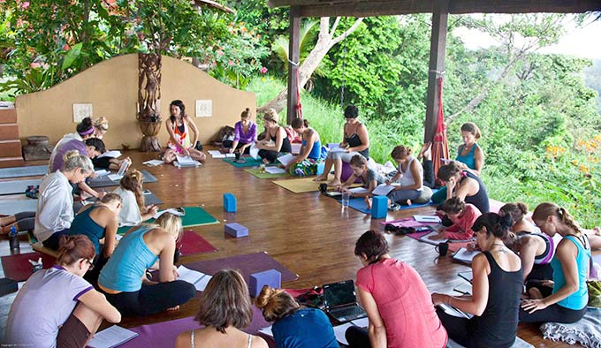 Costa Rica Yoga Teacher Training - Copyright Arthur Gibert