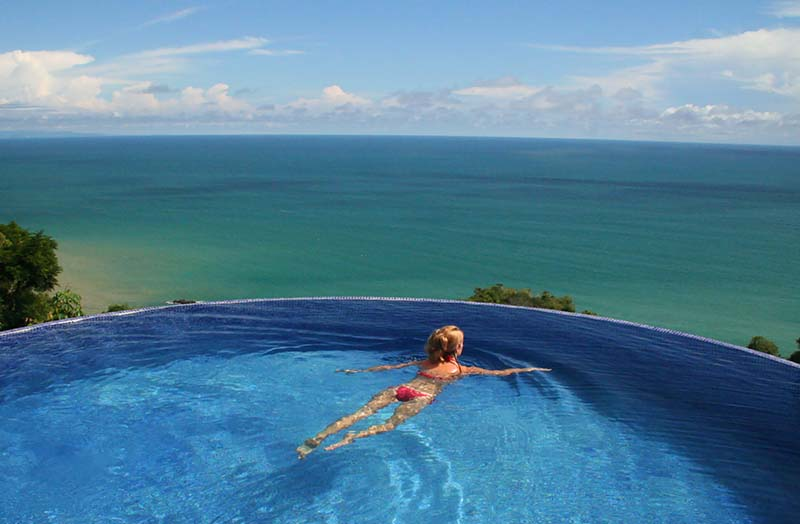 Saltwater Infinity Pool at Anamaya Resort