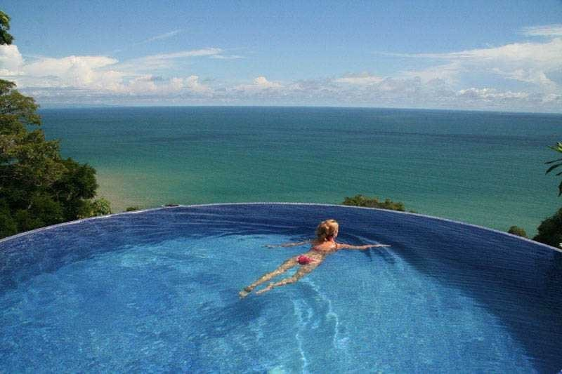 Swimming To Infinity at Anamaya