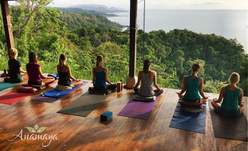 Wonderous Tranquility on The Anamaya Yoga Deck