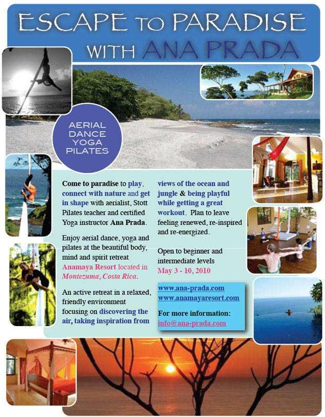 Health, wellness, cleansing retreat in Costa Rica