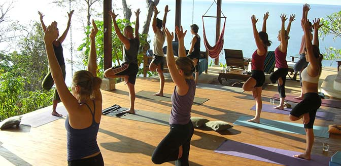 Anamaya Yoga Retreat with Beautiful View