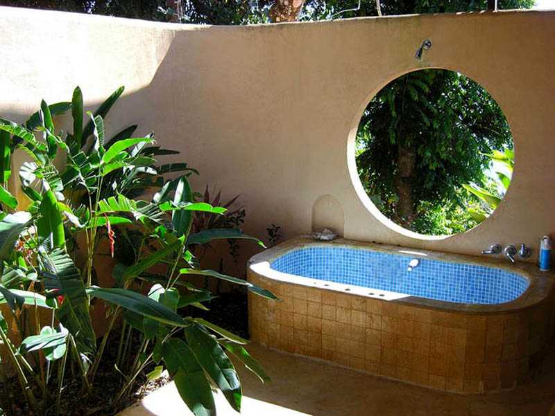 Bali cabina for Bathroom garden tub decorating