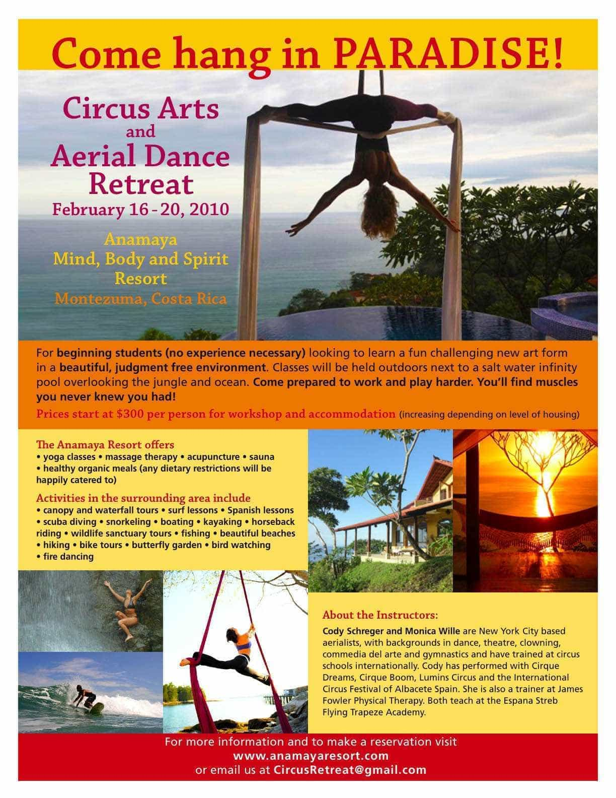 Health, wellness, cleansing retreat in Costa Rica