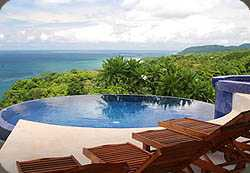 Anamaya has one of Costa Rica's most beautiful and exotic swimming pools