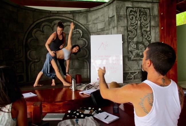 banyan yoga adjustments class