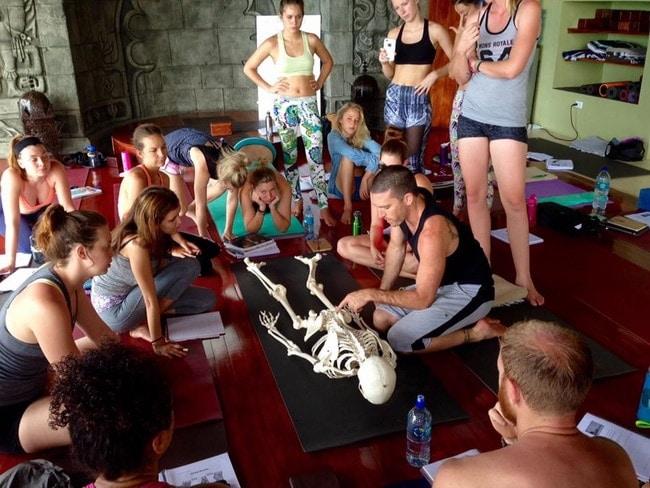 banyan yoga anatomy class