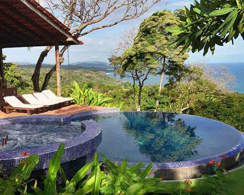 The most beautiful swimming pool in Costa Rica