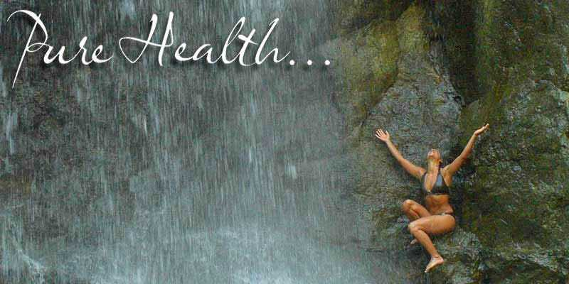 Pure Health - Photo from Montezuma Falls in Costa Rica