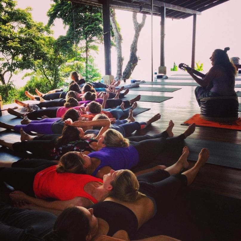 Yoga Class with Rony at Anamaya Resort