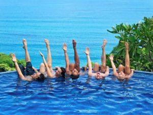 Anamaya Pool Pose