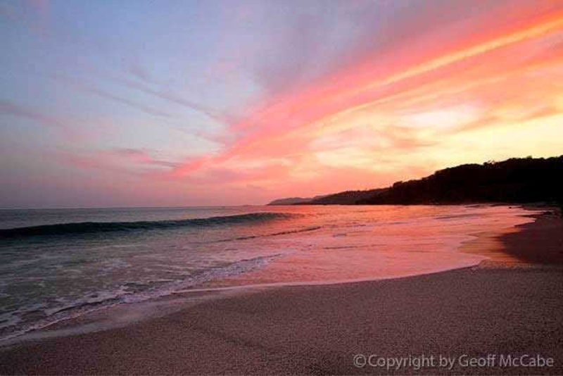 Montezuma Beach Sunset
