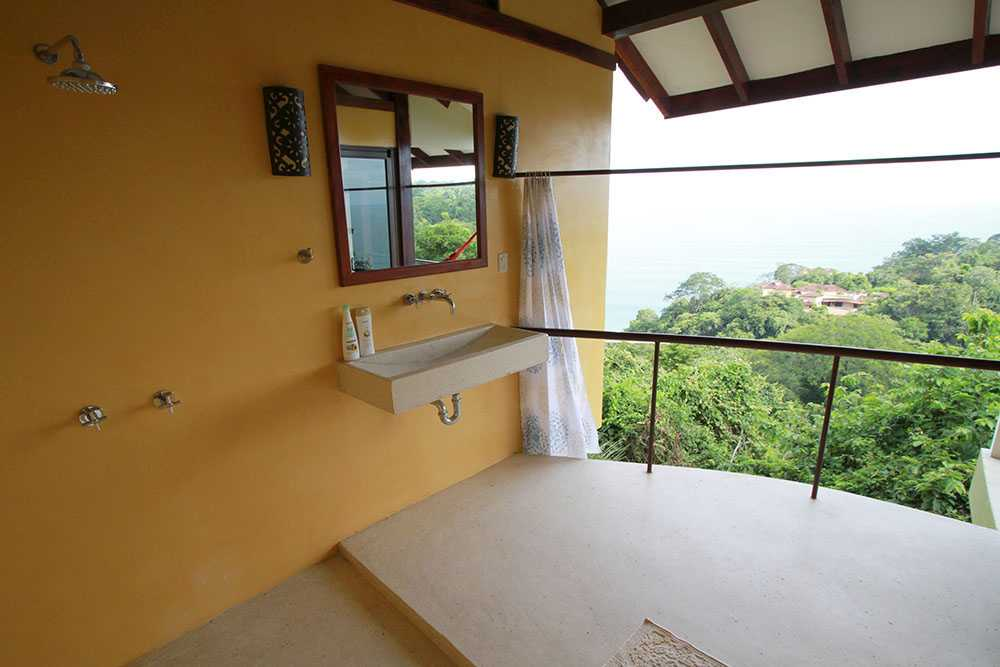 Bathroom with an amazing view