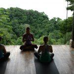 kim yoga class