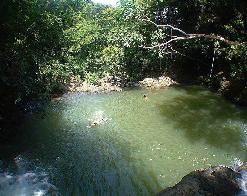 Montezuma Falls third pool