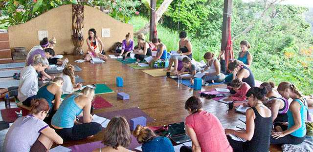 Yoga Teacher Certification Class - Photo Copyright by Arthur Gibert