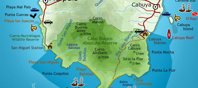 Cabo Blanco Nature Reserve –  Costa Rica's First National Park
