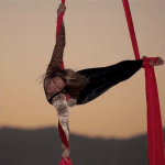 Aerial Silks & Acrobatics with Christine Van Loo