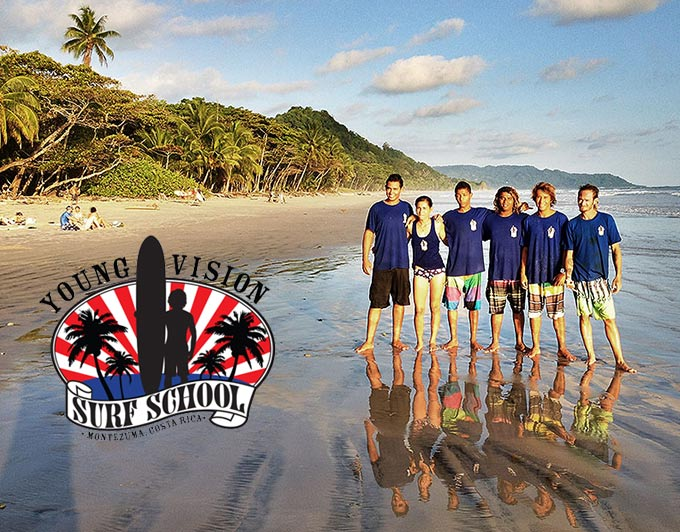 Young Vision Surf School Montezuma Costa Rica