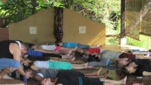 savasana at anamaya resort