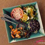 Gourmet healthy food