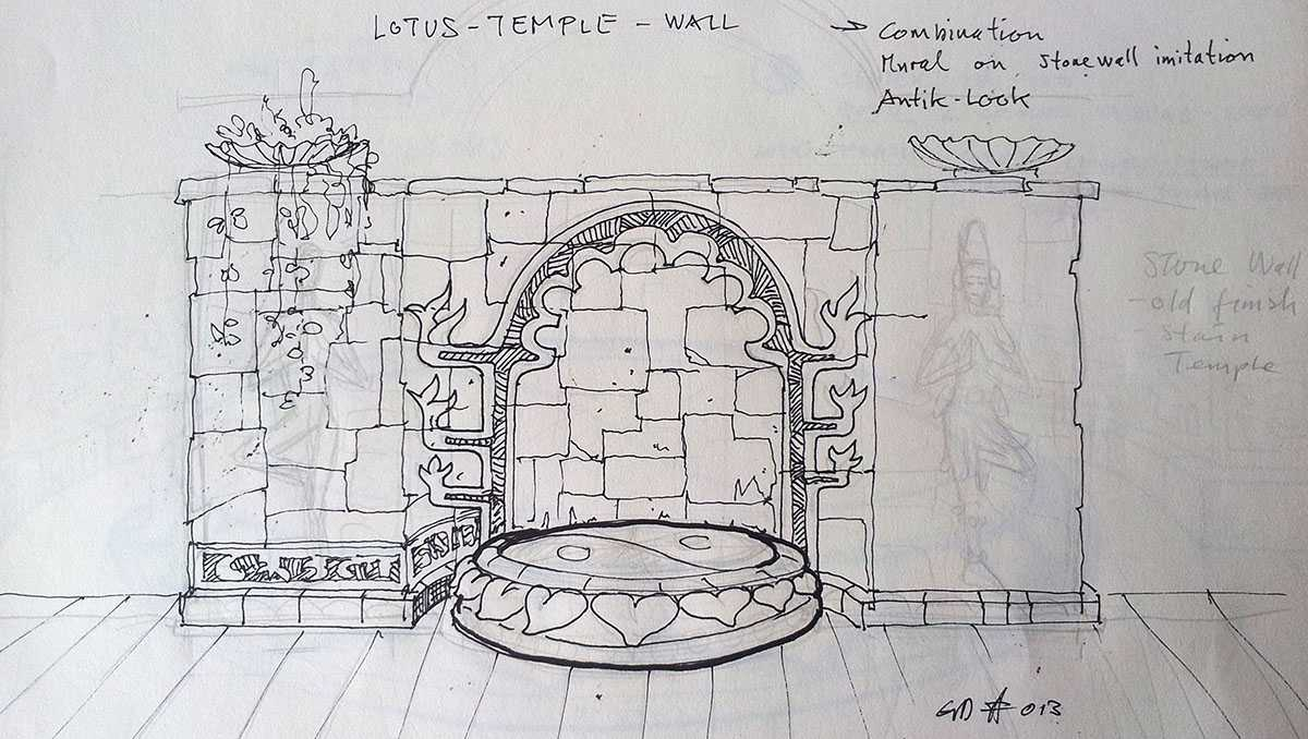 Yoga Temple Design