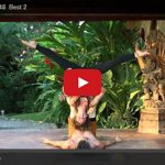 Jessie Standafer's Ukelele Partner Yoga Video