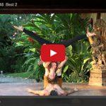 Jessie Standafer's Ukelele Partner Yoga Video