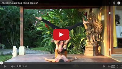 Jessie Standafer Ukelele Partner Yoga