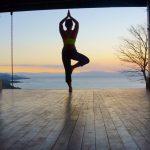 Yoga Deck Sunrise Pose