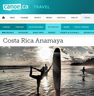 Canoe Magazine Yoga
