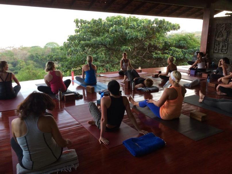 Lucy Hamel Teaching at Anamaya
