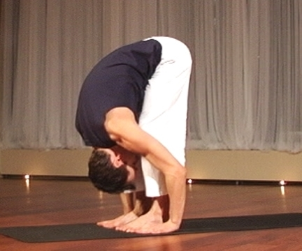 Standing Forward Bend (Uttanasana) (via flickr
