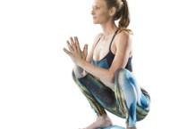 Yoga Squat Pose - Malasana