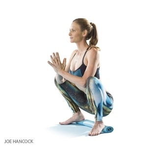 Yoga Squat Pose - Malasana