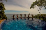 Anamaya Pool with Yogis
