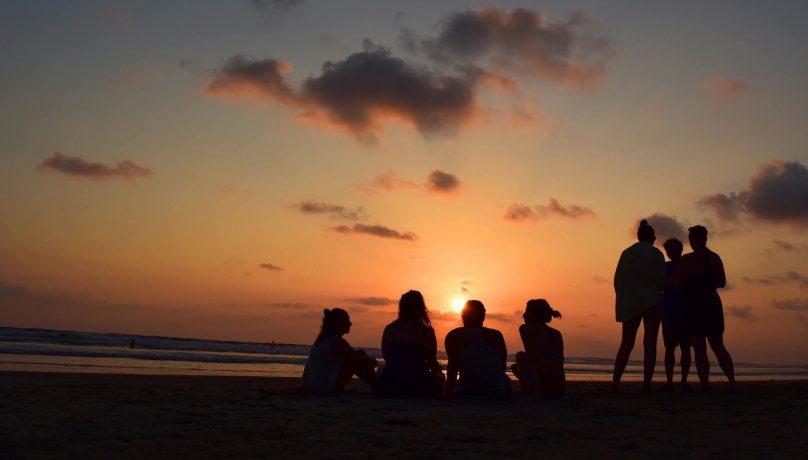Beach Bonfire at Anamaya Retreats