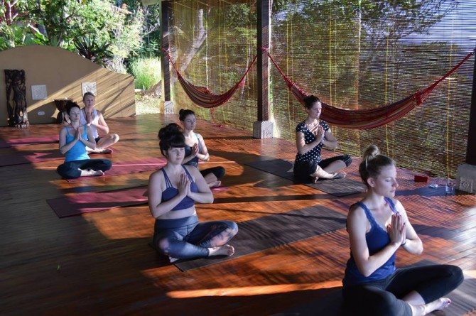 Yoga retreats for Lawson adventure cabins