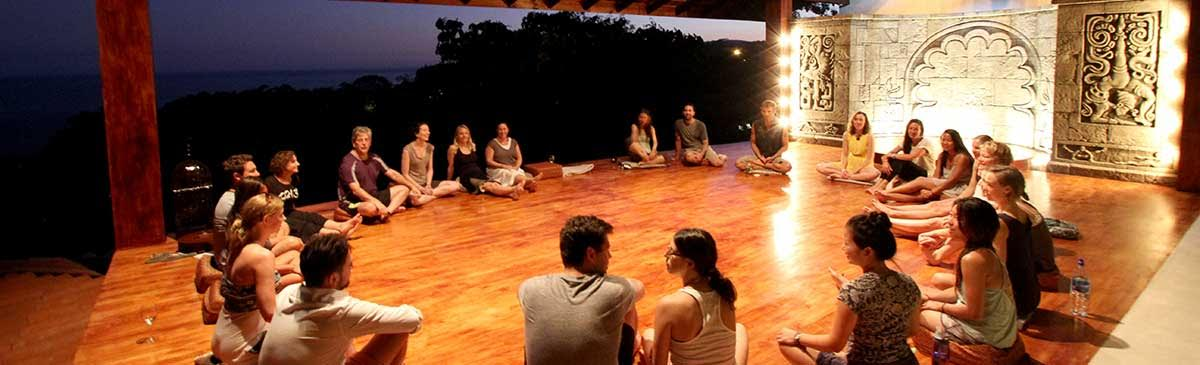 Bandhas retreat and workshop
