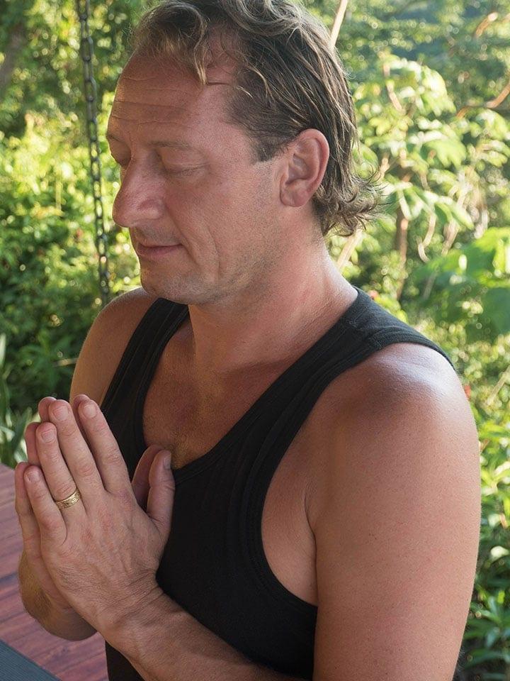 Peter Kaaberbol - Yoga Teacher - Photo by Carin Smolinski