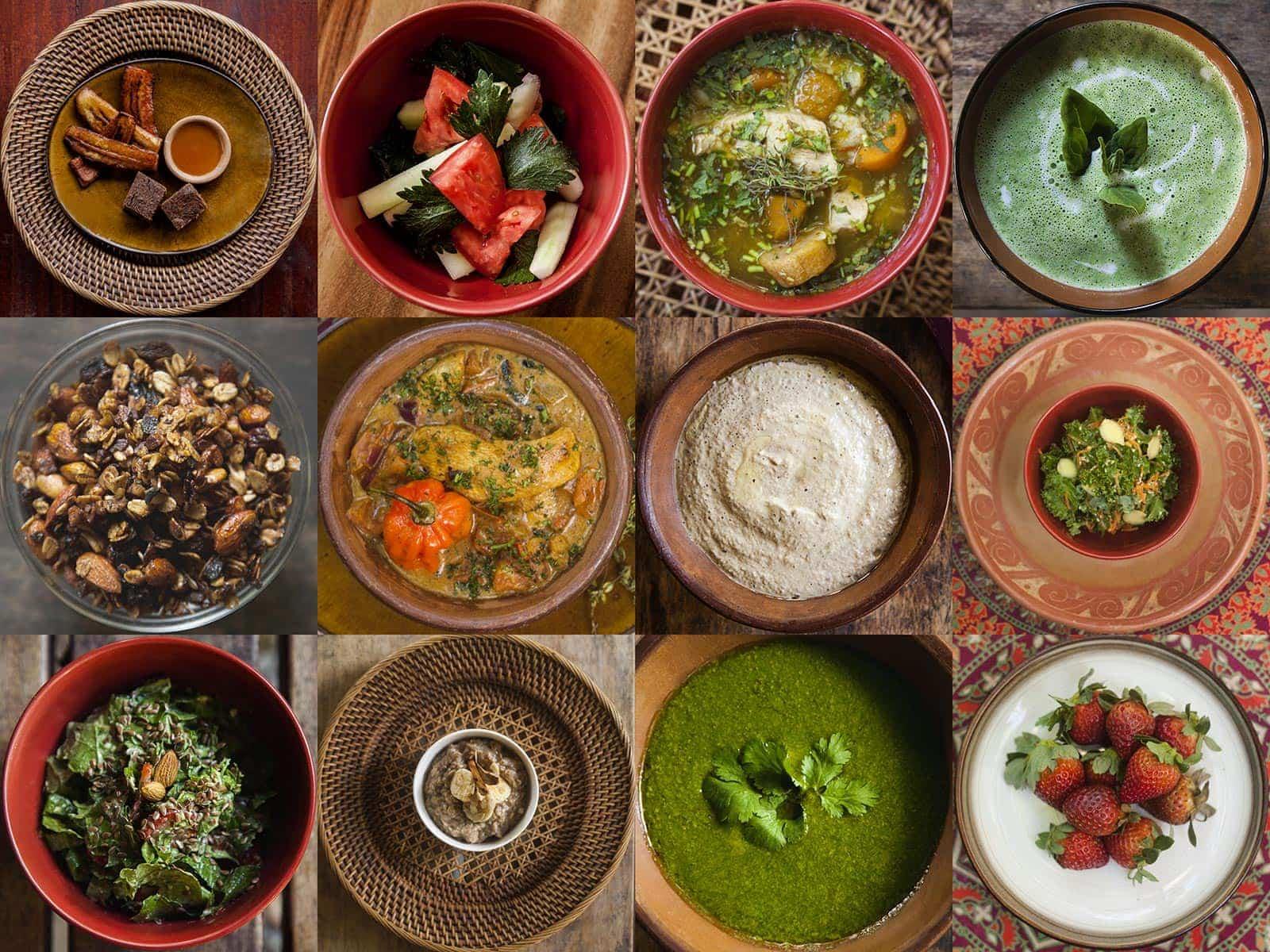 Gourmet Food - 12 Plates