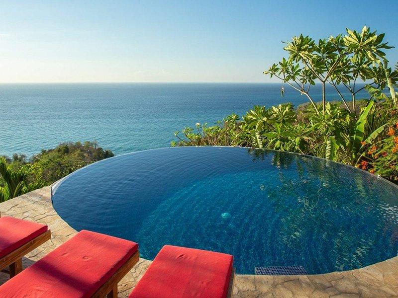 Anamaya Pool with view